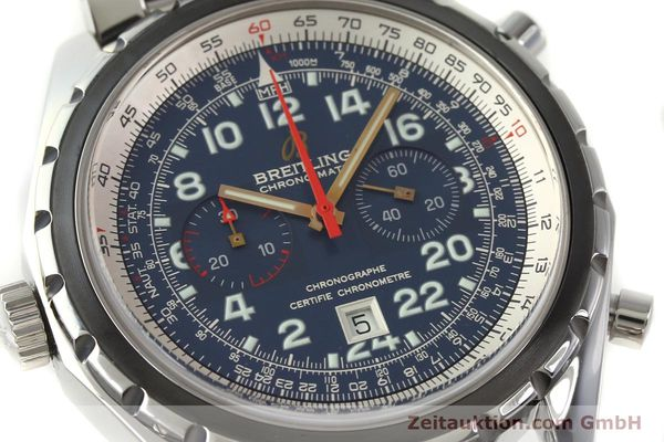Used luxury watch Breitling Chrono-Matic chronograph steel automatic Kal. B22 ETA 2892A2 Ref. A22360 LIMITED EDITION | 150330 02