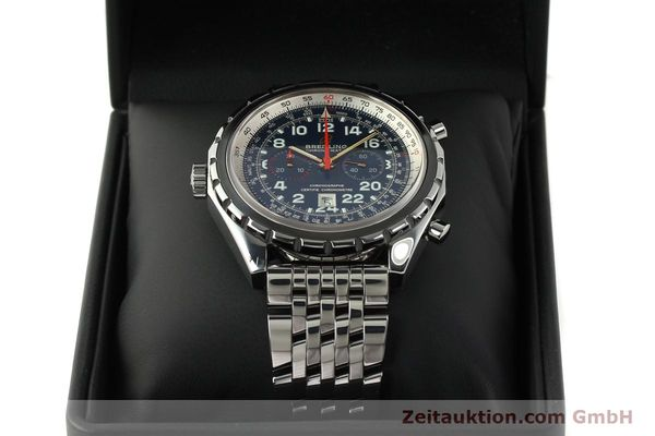 Used luxury watch Breitling Chrono-Matic chronograph steel automatic Kal. B22 ETA 2892A2 Ref. A22360 LIMITED EDITION | 150330 07