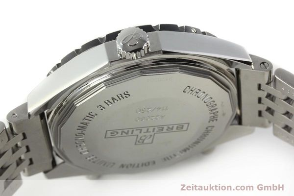 Used luxury watch Breitling Chrono-Matic chronograph steel automatic Kal. B22 ETA 2892A2 Ref. A22360 LIMITED EDITION | 150330 08
