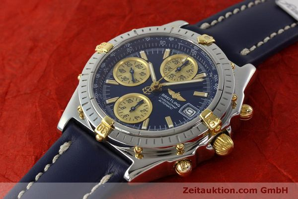 Used luxury watch Breitling Chronomat chronograph steel / gold automatic Kal. B13 ETA 7750 Ref. B13050.1  | 150335 01