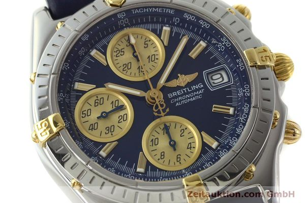 Used luxury watch Breitling Chronomat chronograph steel / gold automatic Kal. B13 ETA 7750 Ref. B13050.1  | 150335 02