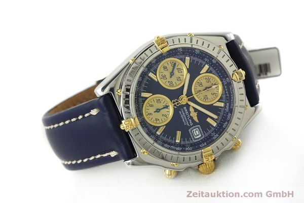 Used luxury watch Breitling Chronomat chronograph steel / gold automatic Kal. B13 ETA 7750 Ref. B13050.1  | 150335 03