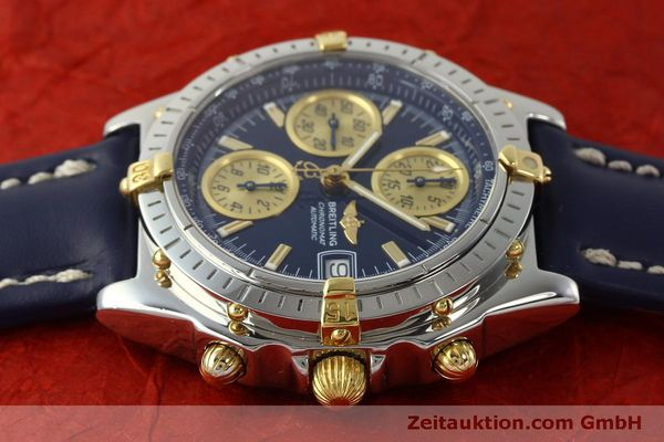Used luxury watch Breitling Chronomat chronograph steel / gold automatic Kal. B13 ETA 7750 Ref. B13050.1  | 150335 05