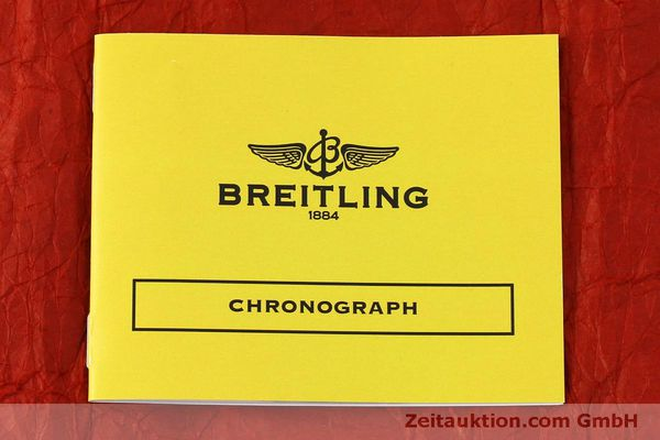 Used luxury watch Breitling Chronomat chronograph steel / gold automatic Kal. B13 ETA 7750 Ref. B13050.1  | 150335 12