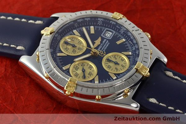 Used luxury watch Breitling Chronomat chronograph steel / gold automatic Kal. B13 ETA 7750 Ref. B13050.1  | 150335 15