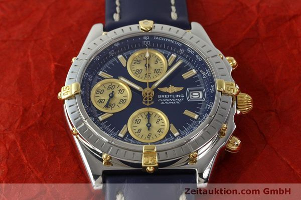 Used luxury watch Breitling Chronomat chronograph steel / gold automatic Kal. B13 ETA 7750 Ref. B13050.1  | 150335 16