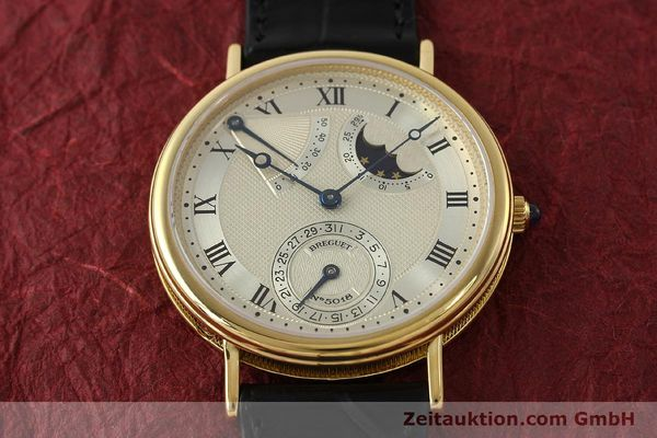 Used luxury watch Breguet Classique 18 ct gold automatic Ref. 3130  | 150336 16
