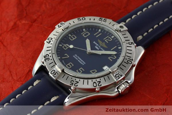 Used luxury watch Breitling Colt steel automatic Kal. B17 ETA 2824-2 Ref. A17035  | 150346 01