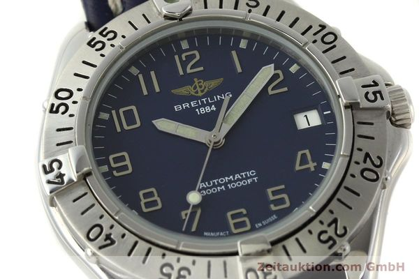 Used luxury watch Breitling Colt steel automatic Kal. B17 ETA 2824-2 Ref. A17035  | 150346 02