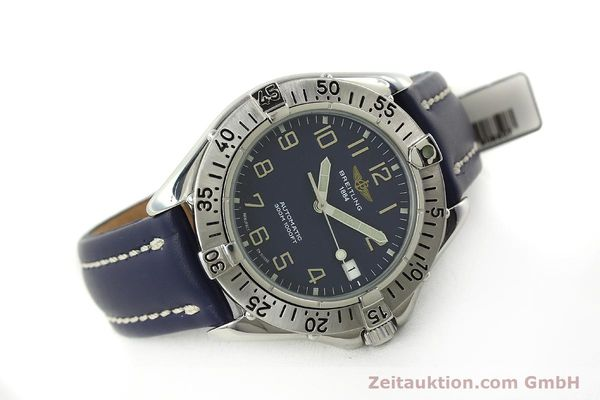 Used luxury watch Breitling Colt steel automatic Kal. B17 ETA 2824-2 Ref. A17035  | 150346 03