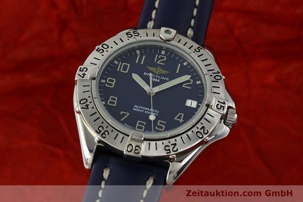 Used luxury watch Breitling Colt steel automatic Kal. B17 ETA 2824-2 Ref. A17035  | 150346 04