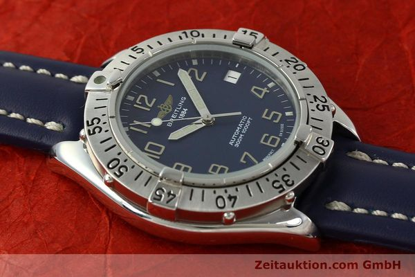 Used luxury watch Breitling Colt steel automatic Kal. B17 ETA 2824-2 Ref. A17035  | 150346 13