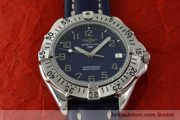 Used luxury watch Breitling Colt steel automatic Kal. B17 ETA 2824-2 Ref. A17035  | 150346 14