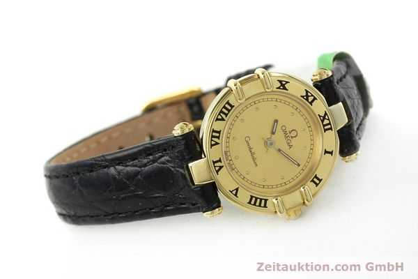 Used luxury watch Omega Constellation 18 ct gold quartz Kal. 1155 ETA 976.001  | 150350 03