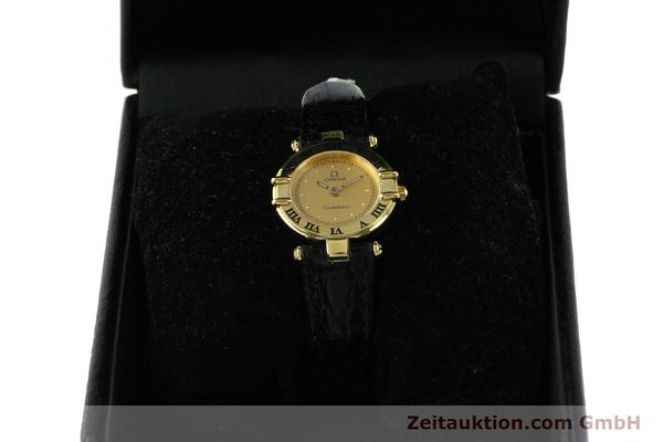 Used luxury watch Omega Constellation 18 ct gold quartz Kal. 1155 ETA 976.001  | 150350 07