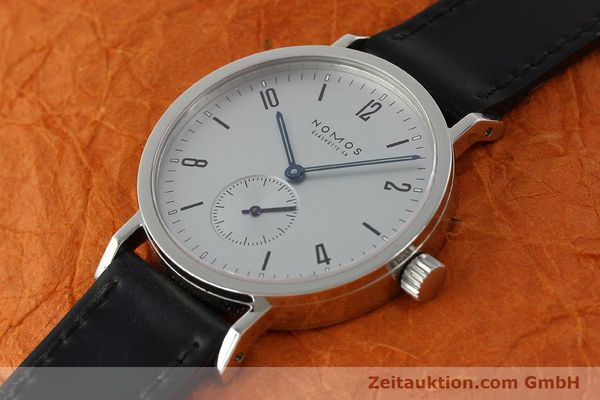 Used luxury watch Nomos Tangente Sport steel manual winding Kal. ETA 7001  | 150354 01