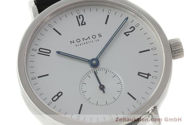 Used luxury watch Nomos Tangente Sport steel manual winding Kal. ETA 7001  | 150354 02