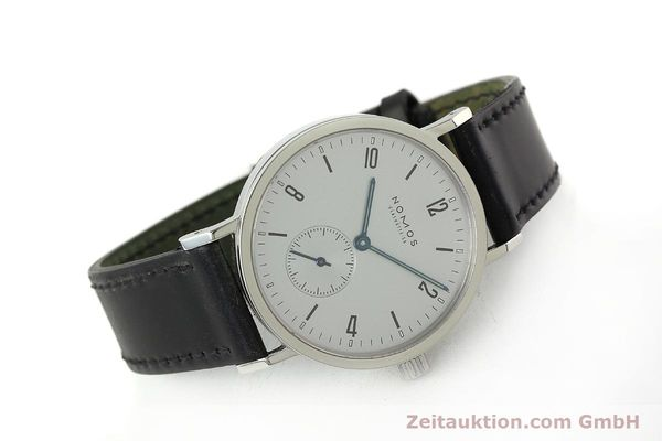 Used luxury watch Nomos Tangente Sport steel manual winding Kal. ETA 7001  | 150354 03