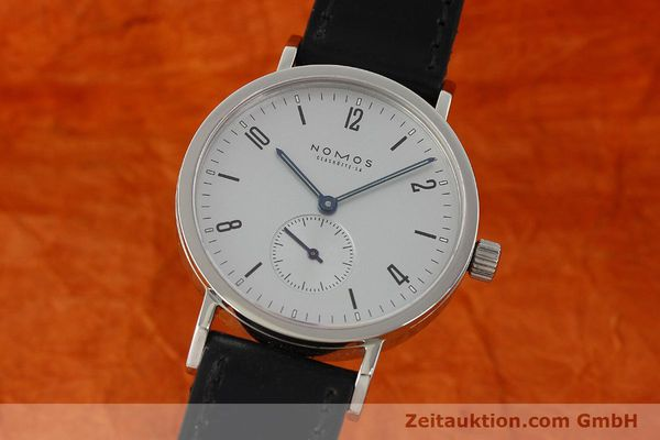 Used luxury watch Nomos Tangente Sport steel manual winding Kal. ETA 7001  | 150354 04