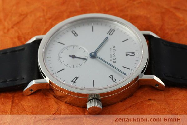 Used luxury watch Nomos Tangente Sport steel manual winding Kal. ETA 7001  | 150354 05