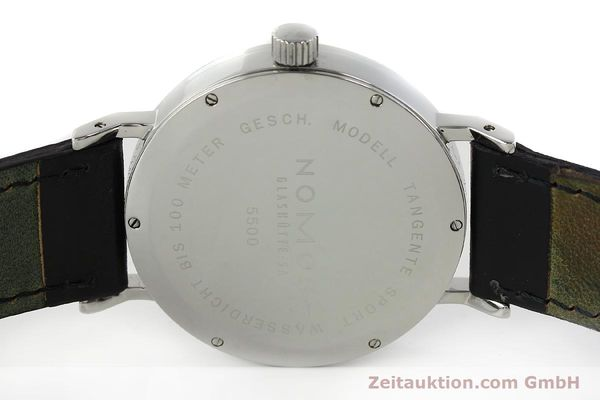 Used luxury watch Nomos Tangente Sport steel manual winding Kal. ETA 7001  | 150354 09