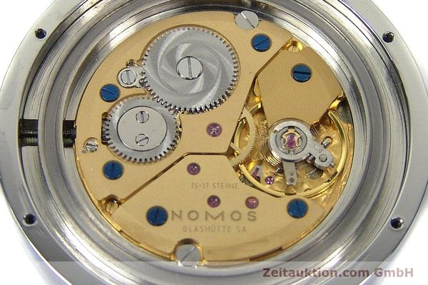 Used luxury watch Nomos Tangente Sport steel manual winding Kal. ETA 7001  | 150354 10