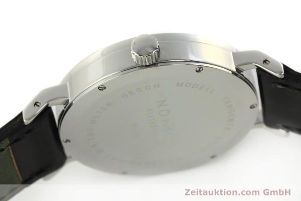Used luxury watch Nomos Tangente Sport steel manual winding Kal. ETA 7001  | 150354 11