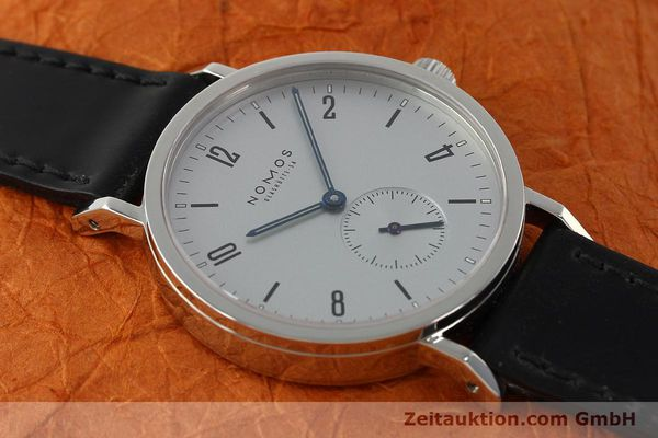 Used luxury watch Nomos Tangente Sport steel manual winding Kal. ETA 7001  | 150354 15