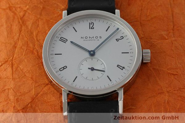 Used luxury watch Nomos Tangente Sport steel manual winding Kal. ETA 7001  | 150354 16