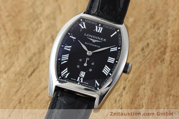 Used luxury watch Longines Evidenza steel automatic Kal. L615.2 ETA 2895-2 Ref. L2.642.4  | 150355 04
