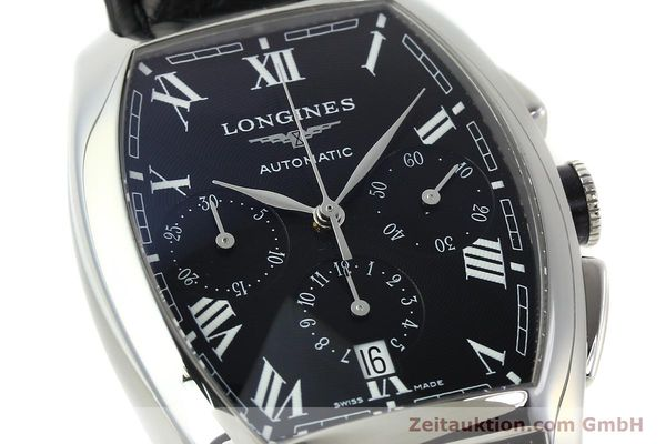 Used luxury watch Longines Evidenza chronograph steel automatic Kal. L650.2 ETA 2894-2 Ref. L2.643.4  | 150356 02