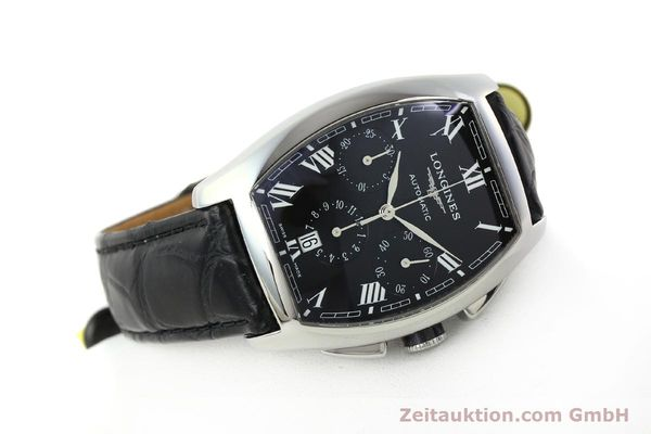 Used luxury watch Longines Evidenza chronograph steel automatic Kal. L650.2 ETA 2894-2 Ref. L2.643.4  | 150356 03