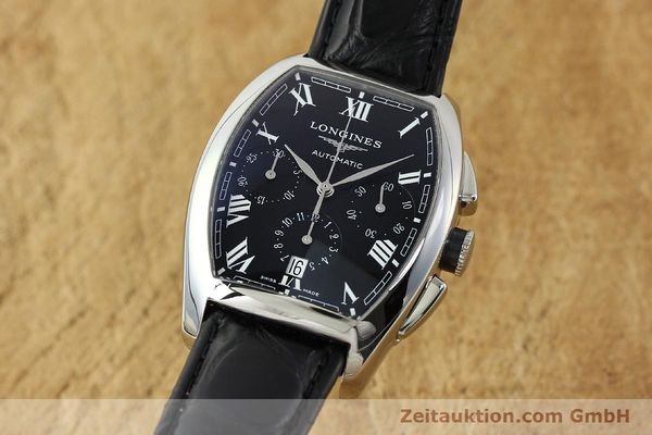 Used luxury watch Longines Evidenza chronograph steel automatic Kal. L650.2 ETA 2894-2 Ref. L2.643.4  | 150356 04