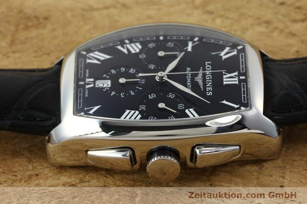 Used luxury watch Longines Evidenza chronograph steel automatic Kal. L650.2 ETA 2894-2 Ref. L2.643.4  | 150356 05