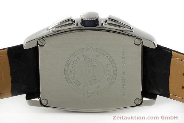 Used luxury watch Longines Evidenza chronograph steel automatic Kal. L650.2 ETA 2894-2 Ref. L2.643.4  | 150356 09