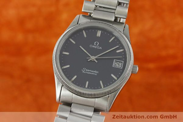 Used luxury watch Omega Seamaster steel automatic Kal. 1110  | 150359 04