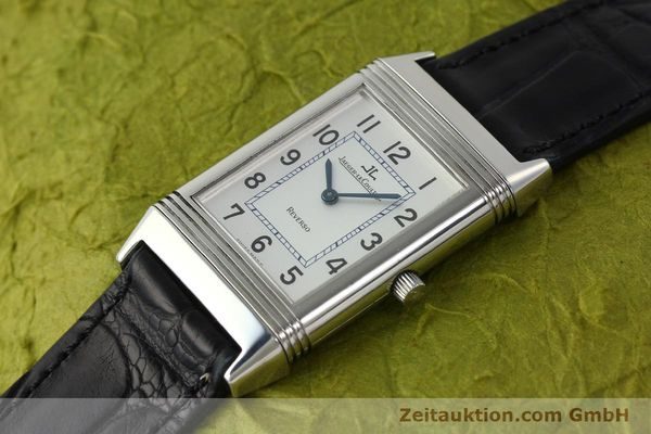 Used luxury watch Jaeger Le Coultre Reverso steel manual winding Kal. 846/1 Ref. 250.8.86  | 150375 01