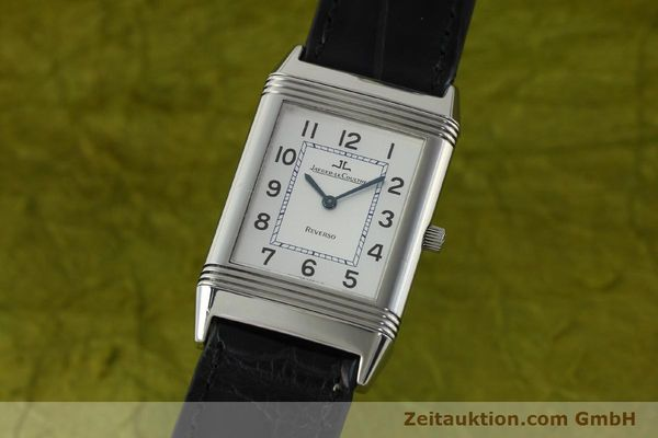 Used luxury watch Jaeger Le Coultre Reverso steel manual winding Kal. 846/1 Ref. 250.8.86  | 150375 04