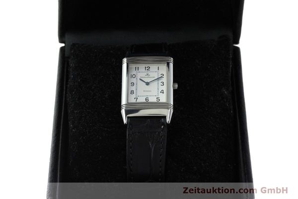 Used luxury watch Jaeger Le Coultre Reverso steel manual winding Kal. 846/1 Ref. 250.8.86  | 150375 07