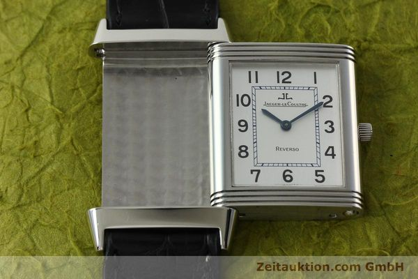 Used luxury watch Jaeger Le Coultre Reverso steel manual winding Kal. 846/1 Ref. 250.8.86  | 150375 13