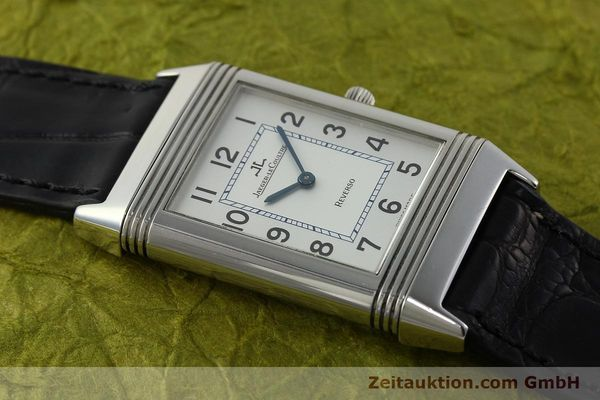 Used luxury watch Jaeger Le Coultre Reverso steel manual winding Kal. 846/1 Ref. 250.8.86  | 150375 14