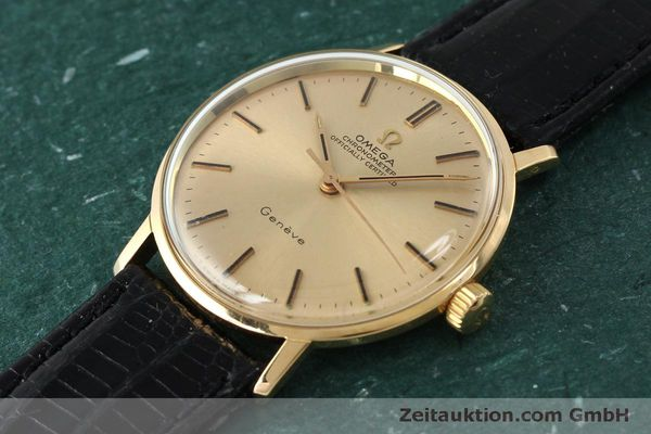 Used luxury watch Omega * 18 ct gold manual winding Kal. 602  | 150379 01