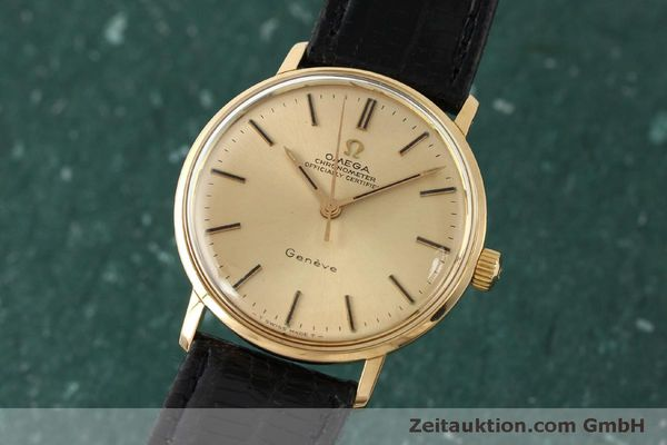 Used luxury watch Omega * 18 ct gold manual winding Kal. 602  | 150379 04
