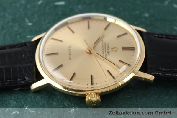 Used luxury watch Omega * 18 ct gold manual winding Kal. 602  | 150379 05