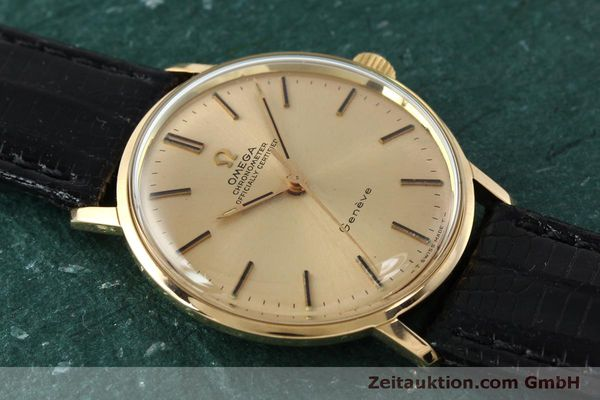 Used luxury watch Omega * 18 ct gold manual winding Kal. 602  | 150379 13