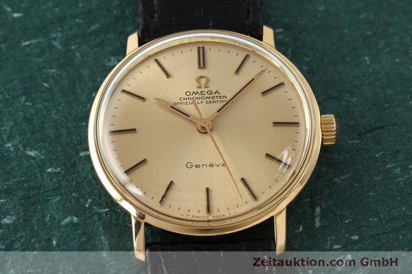Used luxury watch Omega * 18 ct gold manual winding Kal. 602  | 150379 14