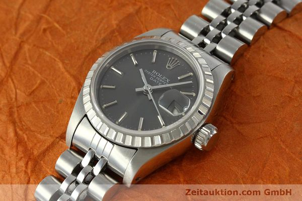 Used luxury watch Rolex Lady Date steel automatic Kal. 2135 Ref. 69240  | 150383 01