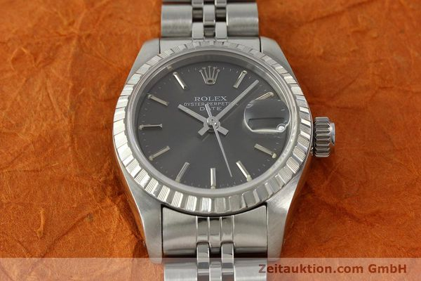 Used luxury watch Rolex Lady Date steel automatic Kal. 2135 Ref. 69240  | 150383 15