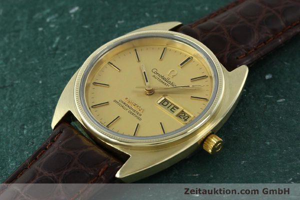 montre de luxe d occasion Omega Constellation doré automatique Kal. 1021  | 150386 01
