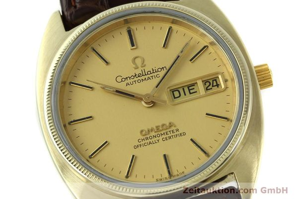 montre de luxe d occasion Omega Constellation doré automatique Kal. 1021  | 150386 02